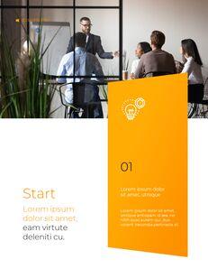Start Project Multipuropose Template Design presentation slide design_18