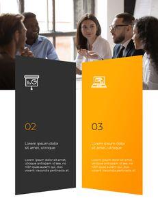 Start Project Multipuropose Template Design presentation slide design_19