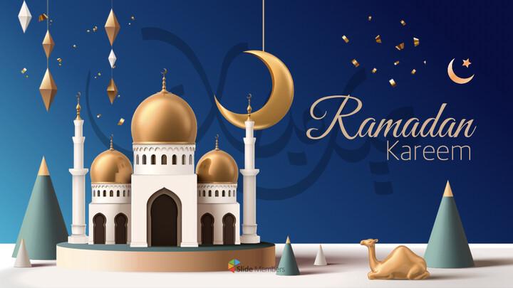 Ramadan Kareem keynote presentation templates free_01