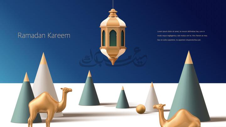 Ramadan Kareem keynote presentation templates free_02