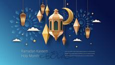 Ramadan Kareem keynote presentation templates free_10