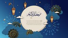 Ramadan Kareem keynote presentation templates free_11