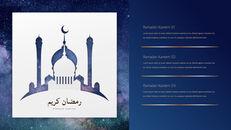 Ramadan Kareem keynote presentation templates free_13