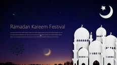 Ramadan Kareem keynote presentation templates free_26