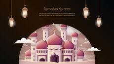 Ramadan Kareem keynote presentation templates free_29