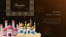 Ramadan Kareem keynote presentation templates free_33
