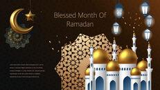Ramadan Kareem keynote presentation templates free_40