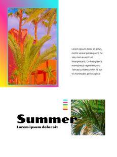 Colorful Tropical Concept PowerPoint Presentation Design_04