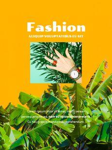 Colorful Tropical Concept PowerPoint Presentation Design_07