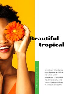 Colorful Tropical Concept PowerPoint Presentation Design_08