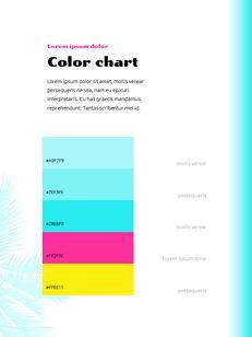 Colorful Tropical Concept PowerPoint Presentation Design_13