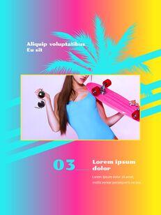Colorful Tropical Concept PowerPoint Presentation Design_14