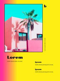 Colorful Tropical Concept PowerPoint Presentation Design_18