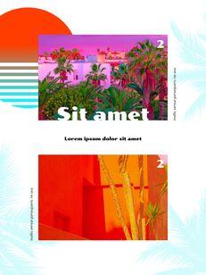 Colorful Tropical Concept PowerPoint Presentation Design_19
