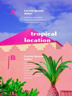 Colorful Tropical Concept PowerPoint Presentation Design_22