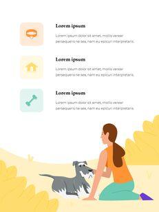My Pet Friends Theme Illustration Vertical PowerPoint Presentations_03