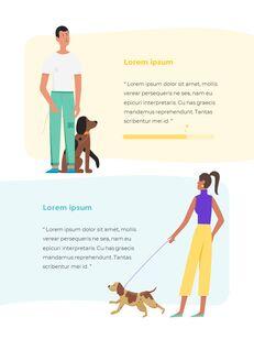 My Pet Friends Theme Illustration Vertical PowerPoint Presentations_05