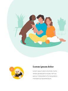 My Pet Friends Theme Illustration Vertical PowerPoint Presentations_06