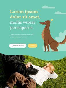 My Pet Friends Theme Illustration Vertical PowerPoint Presentations_07