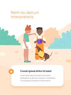 My Pet Friends Theme Illustration Vertical PowerPoint Presentations_08