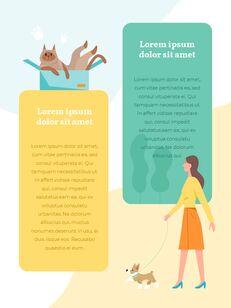 My Pet Friends Theme Illustration Vertical PowerPoint Presentations_10