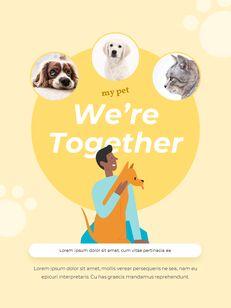 My Pet Friends Theme Illustration Vertical PowerPoint Presentations_11
