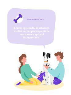My Pet Friends Theme Illustration Vertical PowerPoint Presentations_15