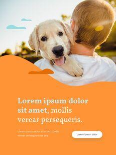 My Pet Friends Theme Illustration Vertical PowerPoint Presentations_17