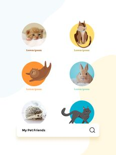 My Pet Friends Theme Illustration Vertical PowerPoint Presentations_20