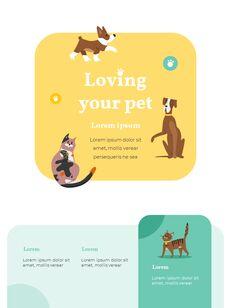 My Pet Friends Theme Illustration Vertical PowerPoint Presentations_21