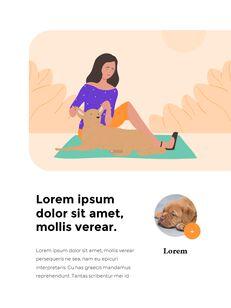 My Pet Friends Theme Illustration Vertical PowerPoint Presentations_23