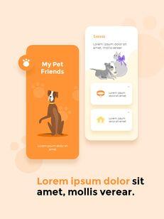 My Pet Friends Theme Illustration Vertical PowerPoint Presentations_24