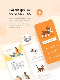 My Pet Friends Theme Illustration Vertical PowerPoint Presentations_25
