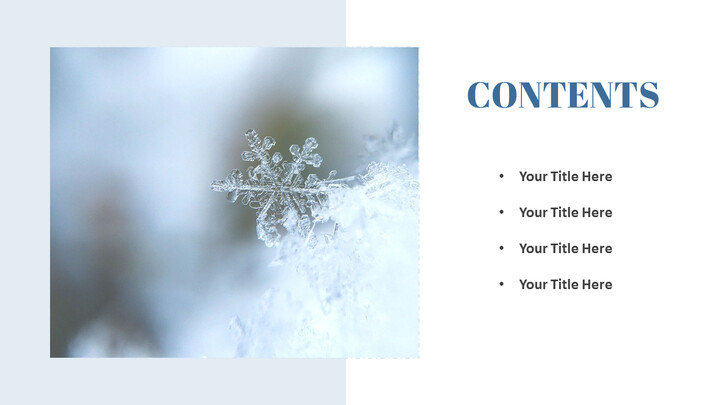 Winter Snow Presentation Google Slides Templates_02