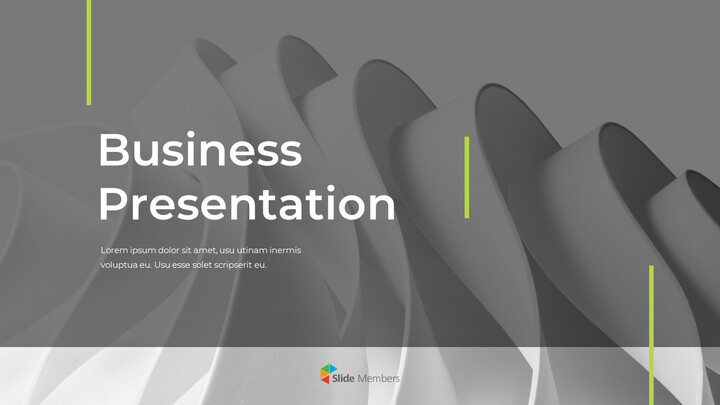 Wavy Abstract Background Pitch Deck Simple Templates Design_01