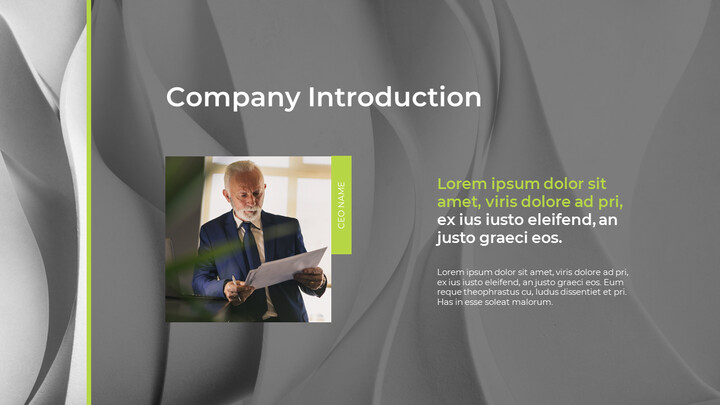 Wavy Abstract Background Pitch Deck Simple Templates Design_02