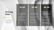 Wavy Abstract Background Pitch Deck Simple Templates Design_06