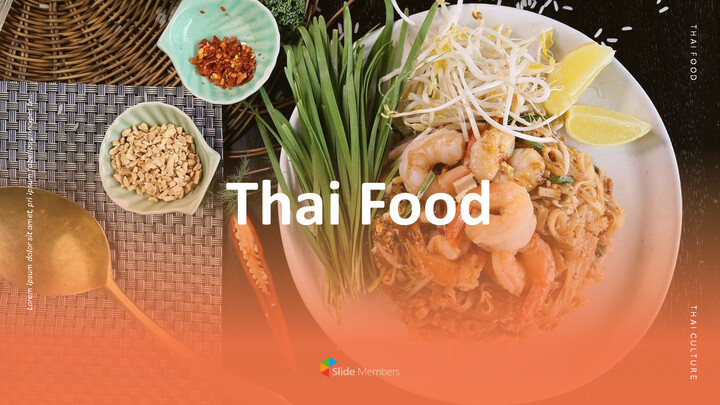 Thai Food PowerPoint Templates_01