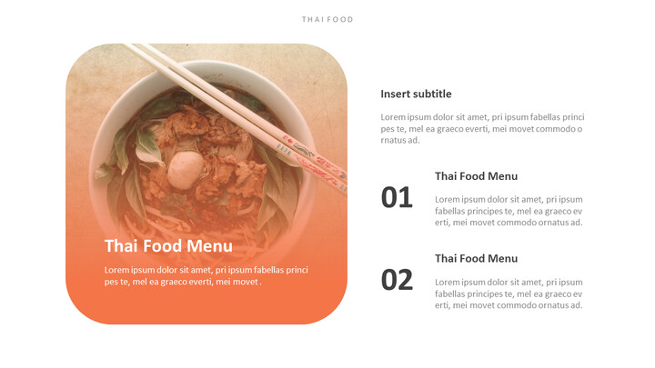 Thai Food PowerPoint Templates_02