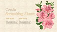 Vintage Flower PowerPoint Presentation PPT_06