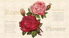Vintage Flower PowerPoint Presentation PPT_09