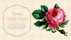 Vintage Flower PowerPoint Presentation PPT_11