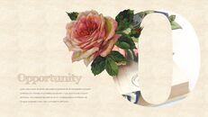 Vintage Flower PowerPoint Presentation PPT_19
