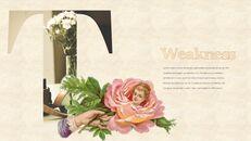 Vintage Flower PowerPoint Presentation PPT_20