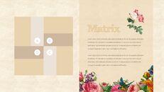 Vintage Flower PowerPoint Presentation PPT_31