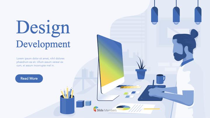 Design Development Business Pitch Deck team presentation template_01