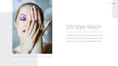 Eye Makeup template keynote free_03