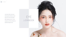 Eye Makeup template keynote free_06