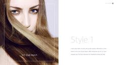 Eye Makeup template keynote free_07