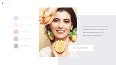 Eye Makeup template keynote free_15